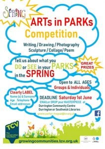 ARTs in PARKs competition poster